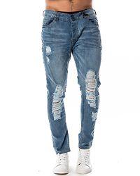 Justin Skinny Fit Denim Jean Light Blue Wash