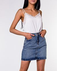 Kathy Short Denim Skirt Light Blue Denim