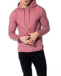Biker Oilwash Hoodie Faded Rose