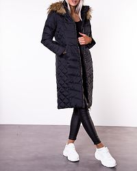 Sadie Long Jacket Black
