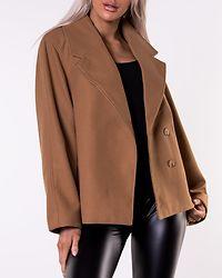 Dafnekim Short Jacket Tobacco Brown