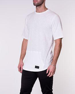 Tee Kangaroo Pocket White