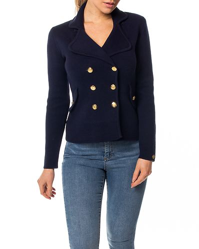 b99c1020 Chiara Heavy Knit Blazer Dark Blue
