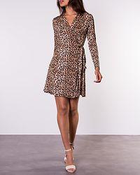 Sonnet Shawl Collar Wrap Leopard