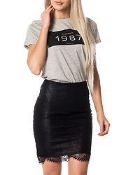 Lea Lace Skirt Black