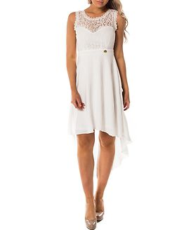 Kimberly Highlow Dress Antique White