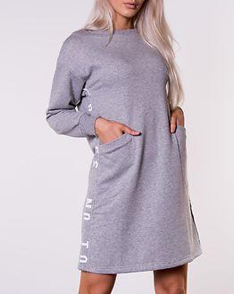 Maid Sweat Dress Grey Melange