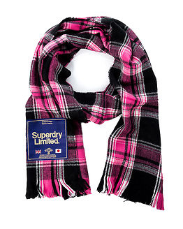 Capital Scarf Pink Check