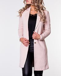 Carrie Mel Coat Rose Smoke/Melange