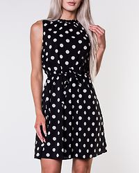 Caruso Dress Dotted/Black/White