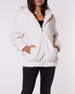 Lexi Borg Hooded Jacket Stone