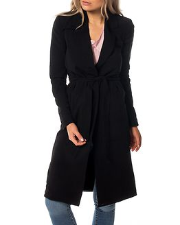 Dicte Runa Long Sping Coat Black