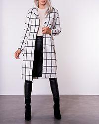 Penelope Coat Checked