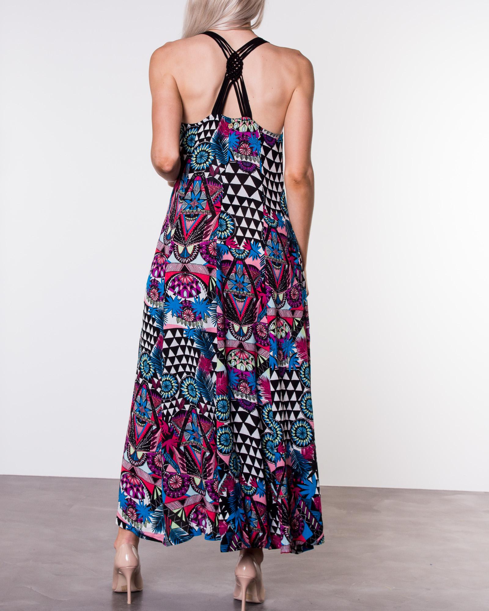 Superdry, Carissa Macrame Maxi Dress Crazy Tropical   ALE