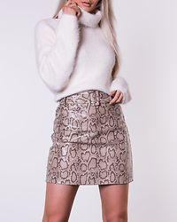 Addison Snake Print Mini Skirt