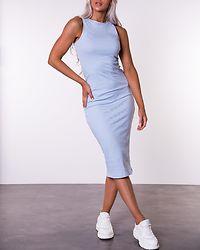 Lavender Calf Dress Casmere Blue