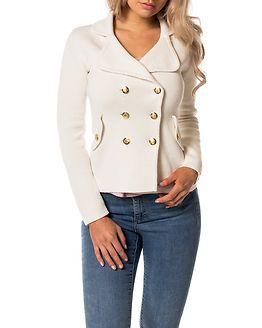 Chiara Heavy Knit Blazer Antique White/Milk