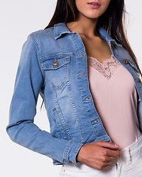 Tia Denim Jacket Light Blue Denim