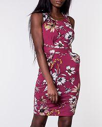 Tribunali Dress Dark Pink/Floral