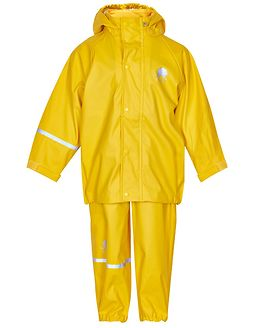 Basic Rainwear Suit -Solid Yellow