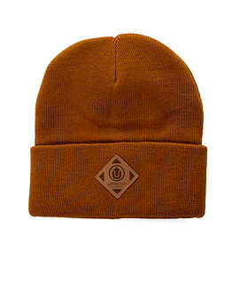 OFFICIAL Upfront Fold Beanie Rust