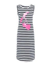 Vippa Maxi Dress Bright White/Cherry