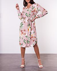 Esmira Shirt Dress Pale Mauve/Esmira