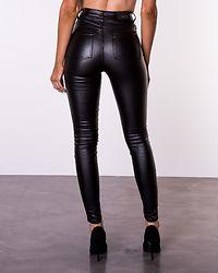 Bianca Coated Jeans Black