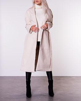 Classic Long Coat Off White