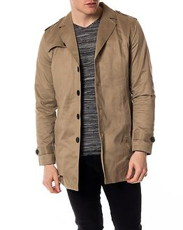 New Adams Trench Coat Desert Taupe